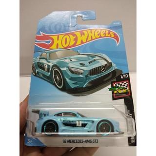Xe Mô Hình Chính Hãng HotWheels – 17 Mercedes-AMG GT3