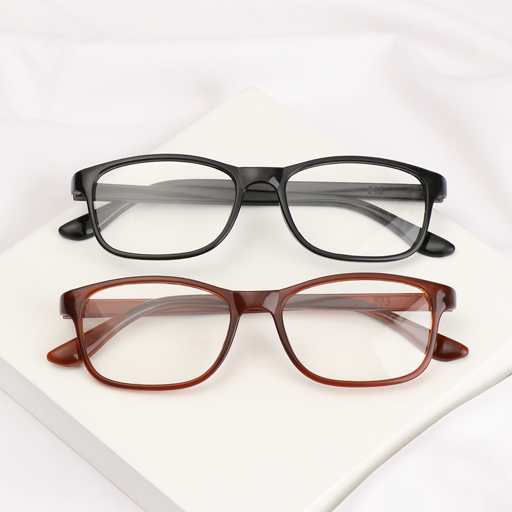 💋MAX Women Reading Glasses Elderly Accessories Eyeglasses Presbyopia Eyewear +1.00~+4.0 Diopter Ultra Light Resin Lightweight Men Vision Care/Multicolor