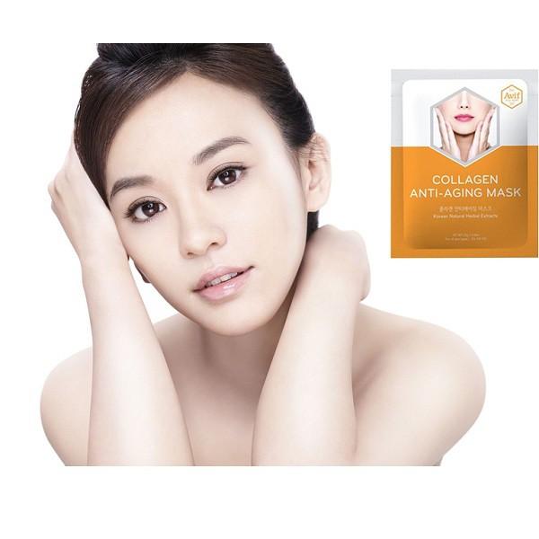 Mặt nạ Avif Collagen giảm lão hóa (Avif Collagen Anti-aging Mask)