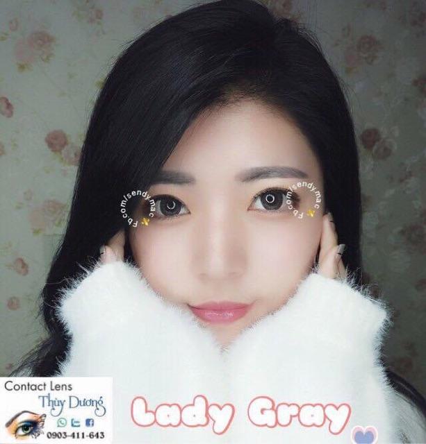 [Kính Áp Tròng] Lady Gray