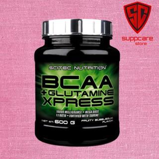 BCAA Scitec BCAA Glutamine Xpress Phục Hồi Cơ Bắp Tăng Sức Mạnh 600 G - Chính Hãng - SUPPCARE thumbnail