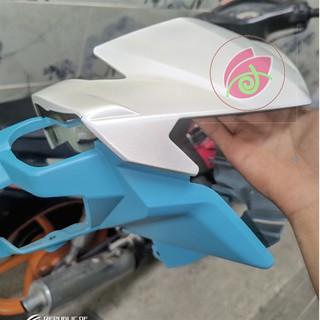 Chai sơn xịt sơn xe máy SAMURAI màu trắng ngọc trai mã H196 400 ml thumbnail