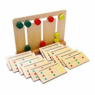 Bộ đạo cụ Mobtessori toán học- phát triển tư duy logic cho bé