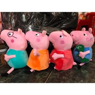 Thú Bông Heo Peppa Pig,Lông Nhung Mềm,Hàng Có Sẵn