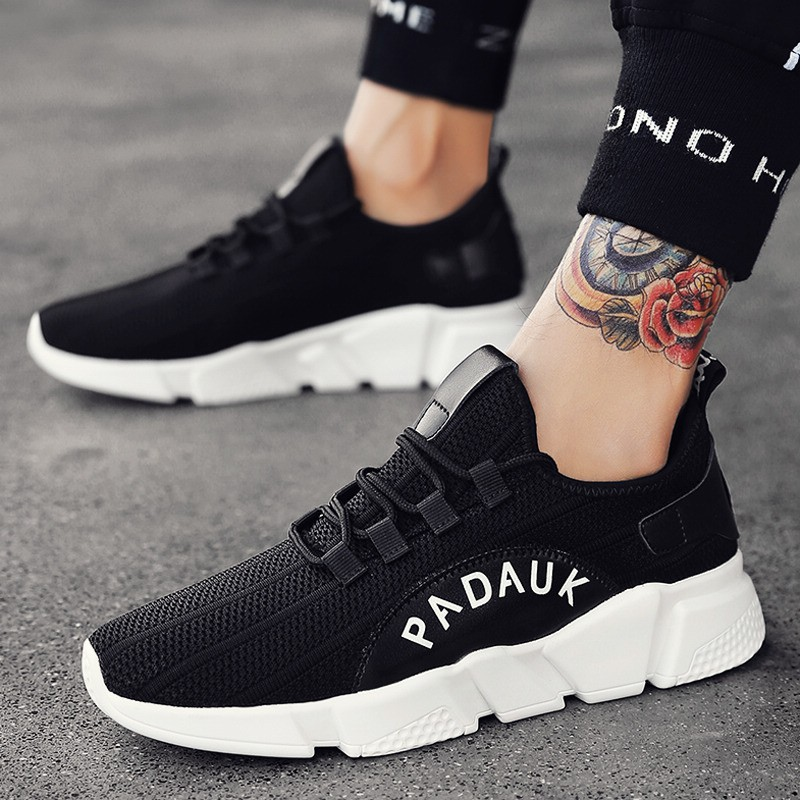 2018 New Fall Sports Hugh Casual Running Men's Korean Shoes Play