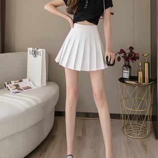 (Kèm Video Và Ảnh Thật)Chân Váy Nữ Chữ A Xếp Li, Chân Váy Ngắn Lưng Cao Thời Trang Hàn Quốc Trẻ Trung Dễ Phối Đồ Hottren