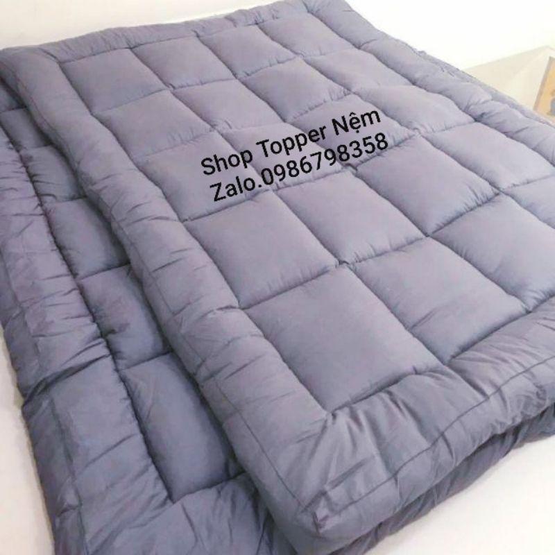 [Mã HLBEST1111 giảm 15% đơn 99K] Topper nệm 10cm/Nệm cuộn trải sàn ngủ gấp gọn cực êm chuẩn khách sạn 5*