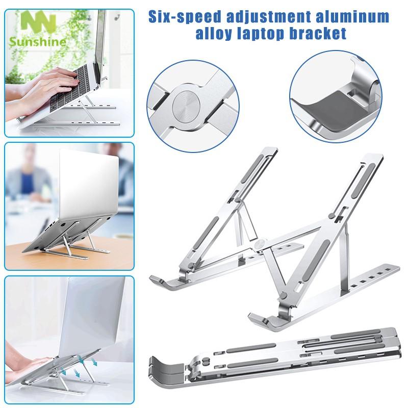 Giá Đỡ Laptop / Macbook Bằng Hợp Kim Aluminum Gấp Gọn Thông Minh