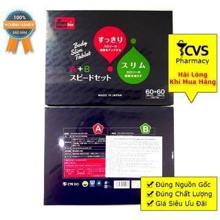 Viên Uống Giảm Cân A+B Giảm Cân AB Xuất Xứ Nhật Bản thumbnail