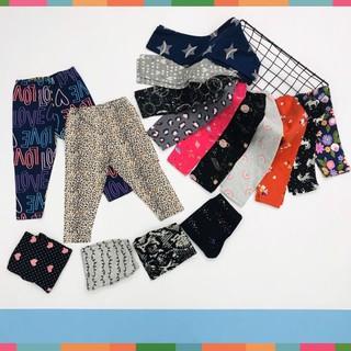 Quần Legging Bé Gái, Size Đại 9-14, Hàng Made In Vn, Chất Cotton Xuất Dư Đẹp, Nhiều Màu Siêu Xinh