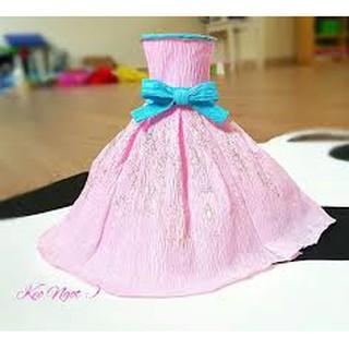 Sét váy cho búp bê ( tặng túi)
