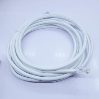 Dây cáp mạng bấm sẵn hai đầu màu trắng chiều dài 2 mét tốc độ chuyền 10 100 1000Mbps (ethernet) thumbnail