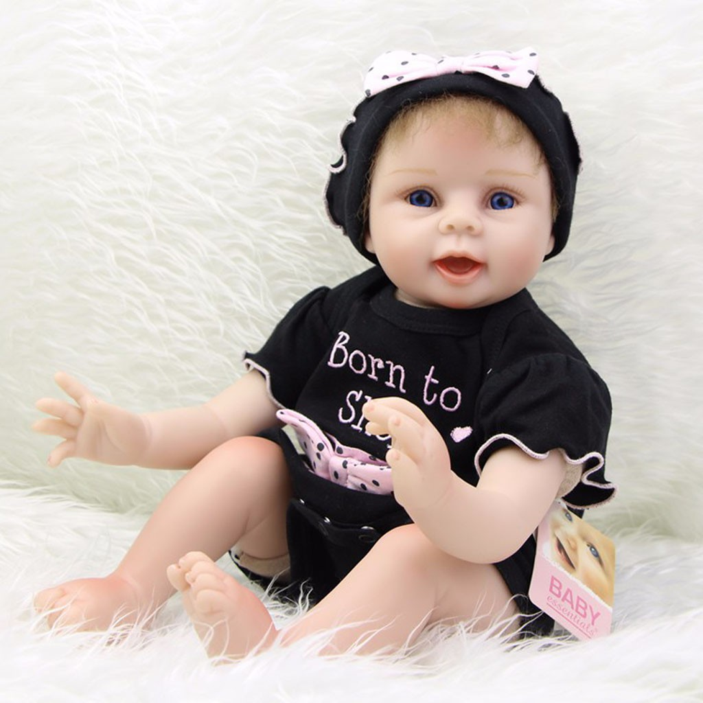 Pink Bowknot Rompers Hat Suit Clothes for 22''-23'' Nebworn Baby Doll