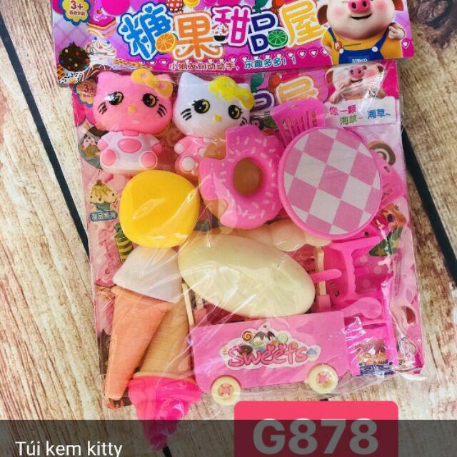 Túi kem kitty