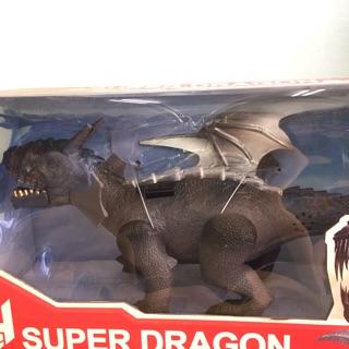 Rồng đen cực ngầu, có cánh, dùng pin