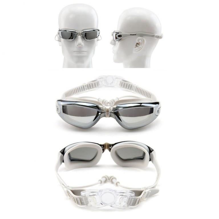 Kính bơi tráng gương, chống UV, chống sương mờ KB387B