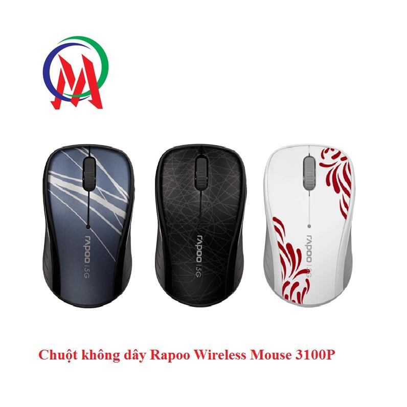 Chuột không dây Rapoo Wireless Mouse 3100P - 13709040 , 1507322288 , 322_1507322288 , 299000 , Chuot-khong-day-Rapoo-Wireless-Mouse-3100P-322_1507322288 , shopee.vn , Chuột không dây Rapoo Wireless Mouse 3100P