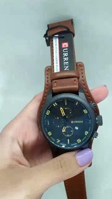Đồng hồ nam CURREN 8225 dây da sang trọng ,đăng cấp dành cho doanh nhân Lux.watch