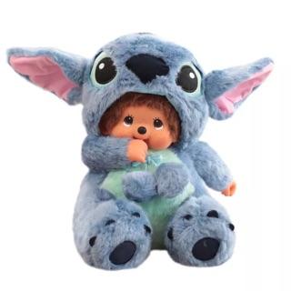 thú nhồi bông monchichi stitch cosplay 35cm