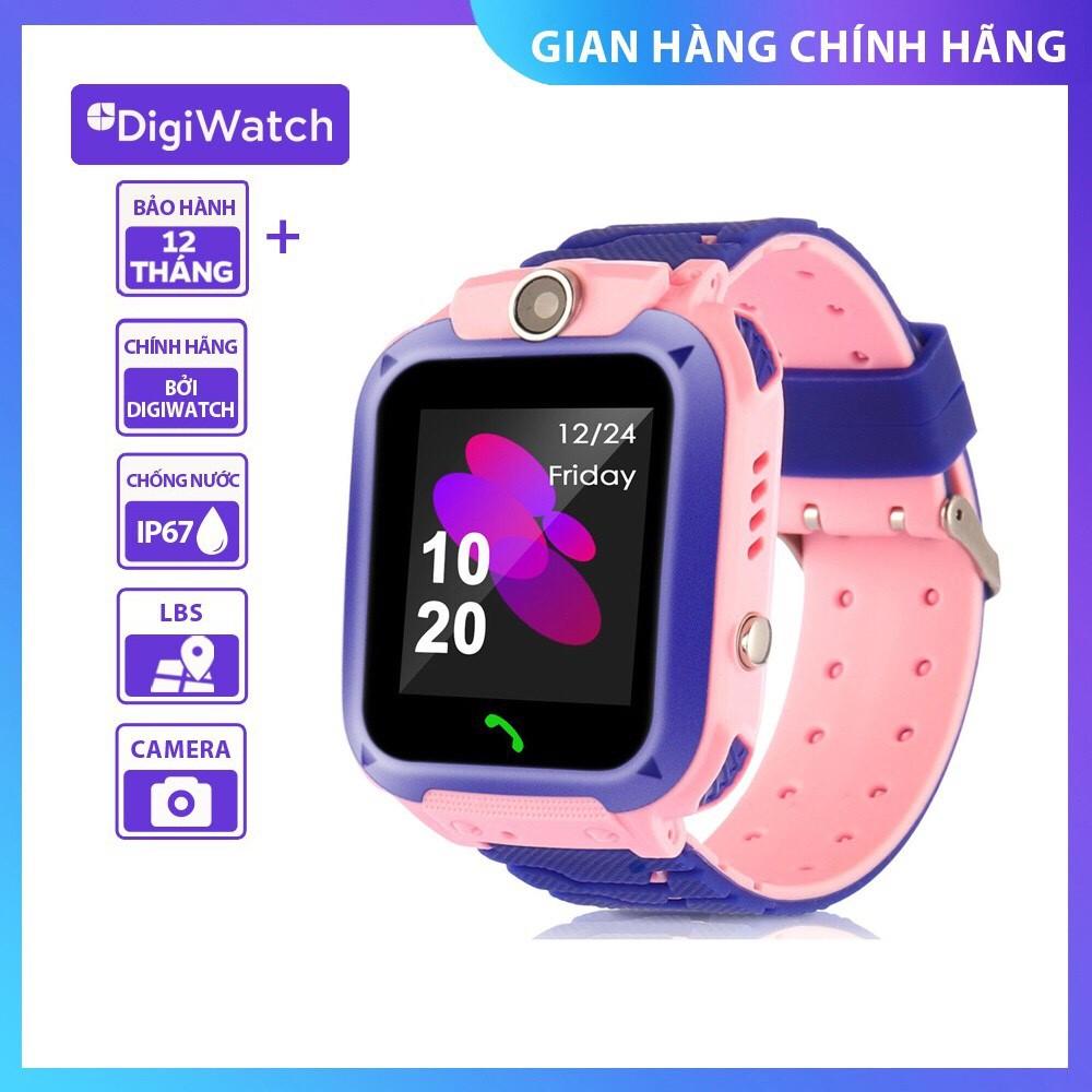 Đồng hồ định vị trẻ em Digiwatch DW28 Nghe gọi 2 chiều   Camera chụp hình   Chống nước IP67(siêu đẹp, tiếng việt)