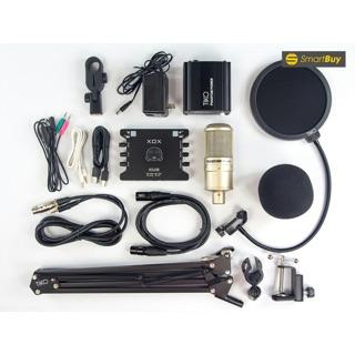 Chọn Bộ Thu âm livestream Cao cấp Mic PC-k200 Sound card XOX KS108 bản quốc tế kèm đầy đủ phụ kiện bh 6 tháng