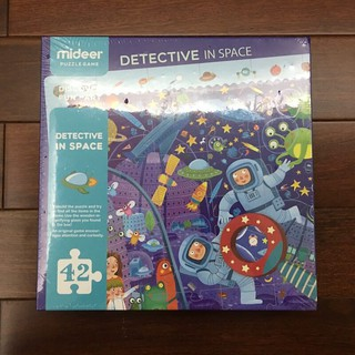 Đồ chơi xếp hình Mideer Puzzle Game Detective In Space