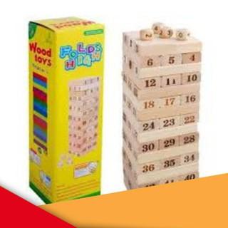 SIÊU RẺ Trò chơi rút gỗ 54 thanh WOOD LOẠI LỚN MỚI NHẬP
