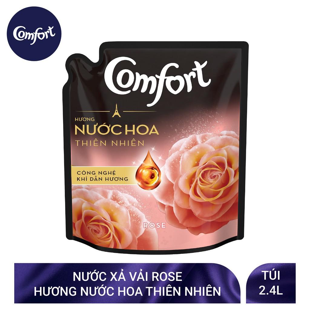 Nước xả vải Comfort Hương Nước hoa thiên nhiên túi 2,4L