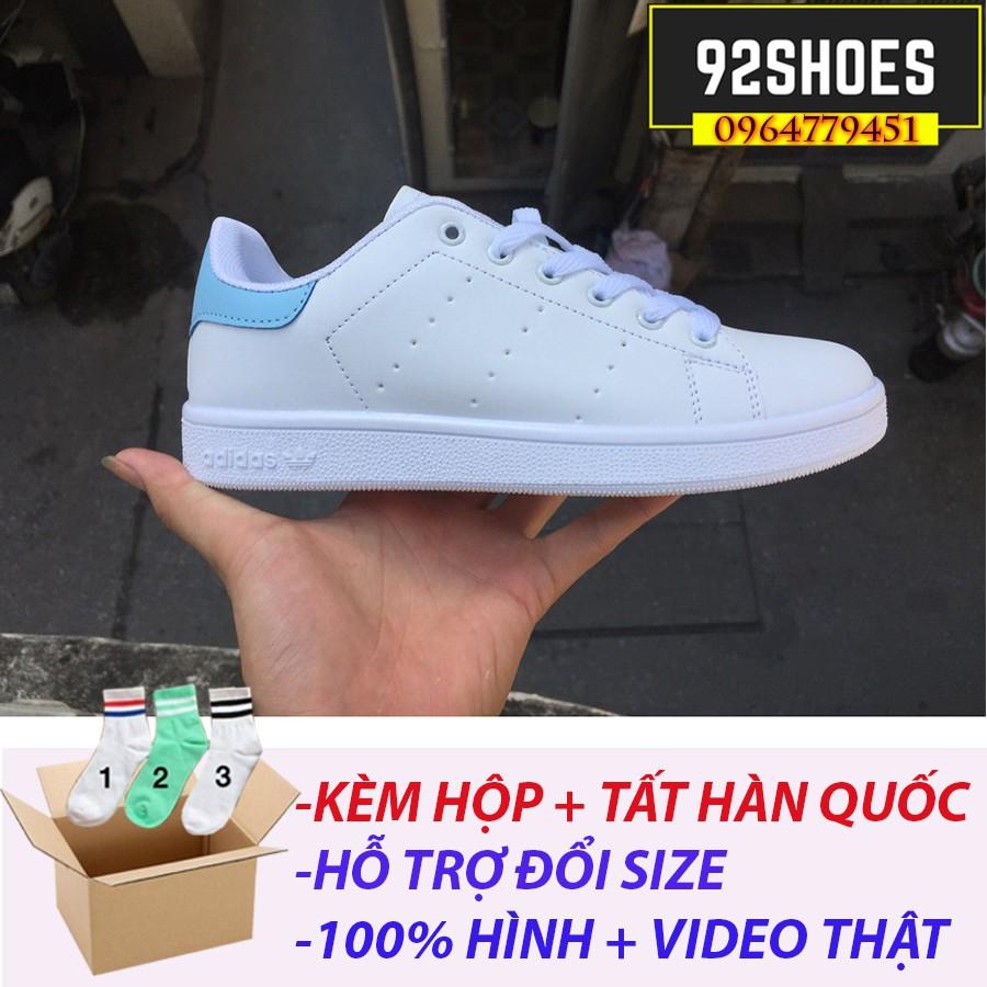 ? [FREE SHIP + BOX+TẶNG TẤT CHÂN HÀN QUỐC] Giày Adidas Stan Smith babe gót xanh ngọc - 3135562 , 1049879141 , 322_1049879141 , 150000 , -FREE-SHIP-BOXTANG-TAT-CHAN-HAN-QUOC-Giay-Adidas-Stan-Smith-babe-got-xanh-ngoc-322_1049879141 , shopee.vn , ? [FREE SHIP + BOX+TẶNG TẤT CHÂN HÀN QUỐC] Giày Adidas Stan Smith babe gót xanh ngọc