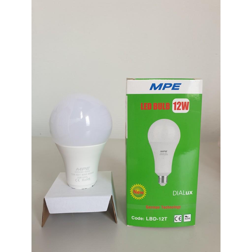 Đèn Led Bulb LBD- 9W MPE, 12W, 20W, 30W, 40W, Đèn bulb, đèn tròn, bóng đèn  led tròn