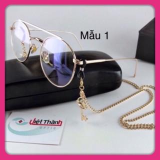 Dây đeo kính có CHARM LỚN dây đeo kính kim loại chain kính