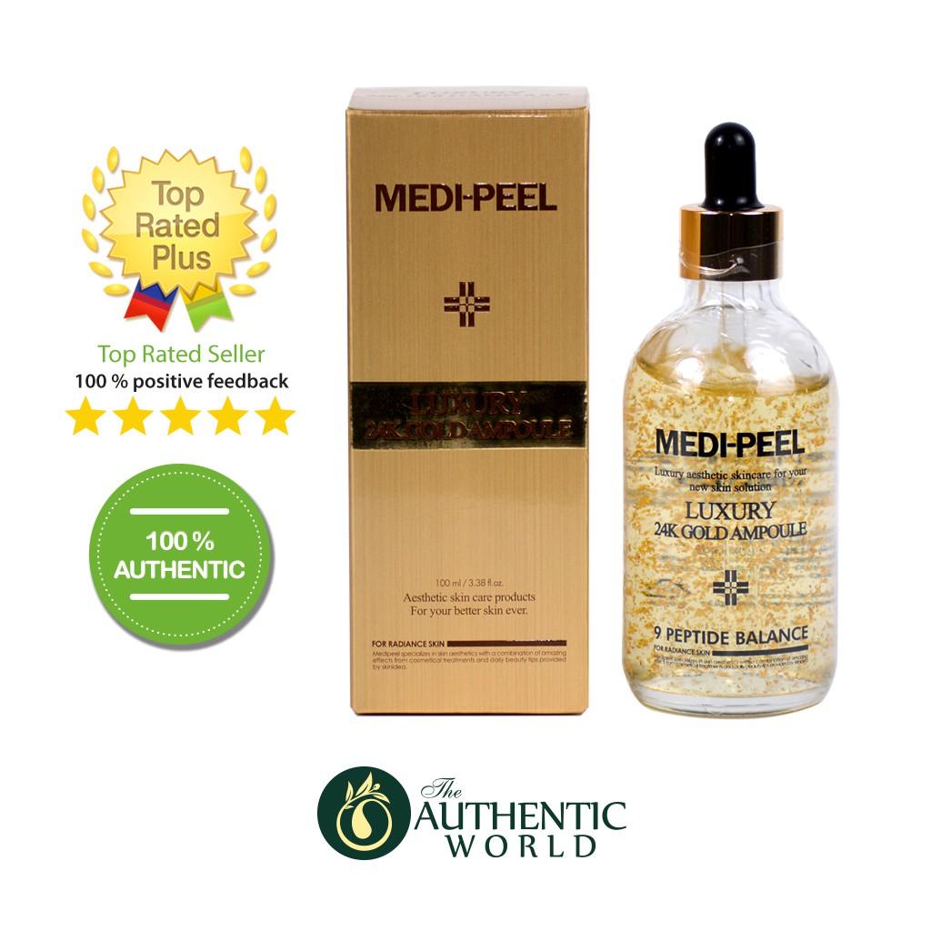 MediPeel - Serum dưỡng da giảm nám Luxury 24K Gold Ampoule 100ml