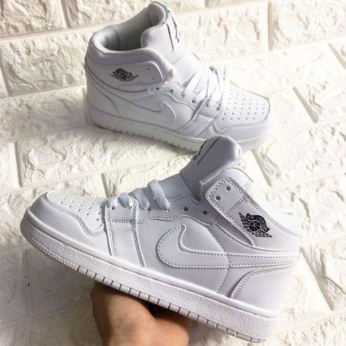 Giày thể thao jordan 1 ARI trắng full