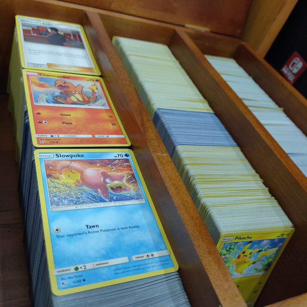[Buffet Thẻ Pokemon] Thẻ bài Pokemon tự chọn loại phổ thông (chính hãng 100%)
