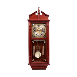 [Video test]Đồng hồ treo tường quả lắc KASHI KN627 vỏ gỗ tự nhiên có nhạc chuông