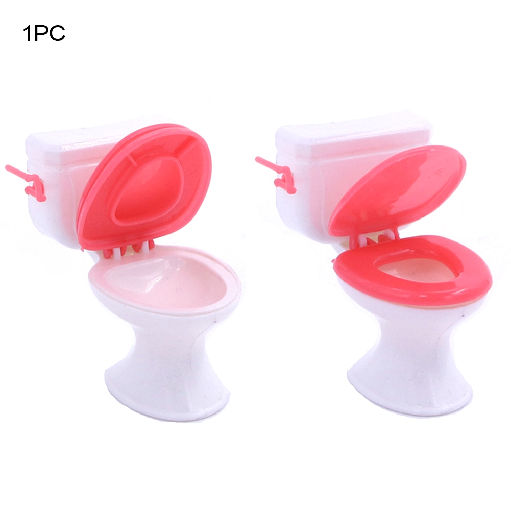 Doll's Accessories Animated For Baby Girl Closestool Mini Kelly Dolls Cute Bathroom Tools Dollhouse Furniture
