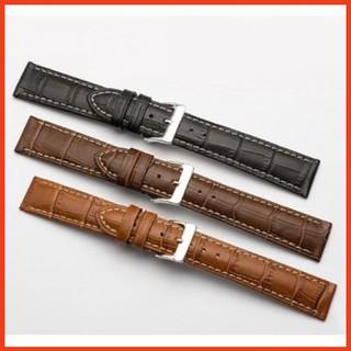 Dây đồng hồ, thời trang nam da PU nhiều màu 20mm-Maitoshi2905Bảo Hành Đổi Mới