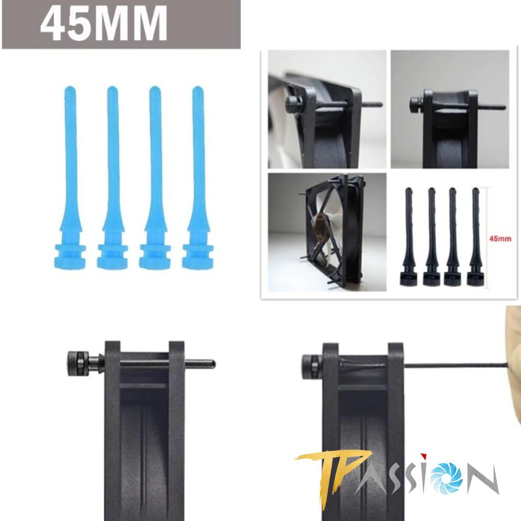 Bộ 4 Ốc cao su gắn fan, quạt máy tính - Ốc fan case cao su, chắt chắn, dễ dàng lắp đặt