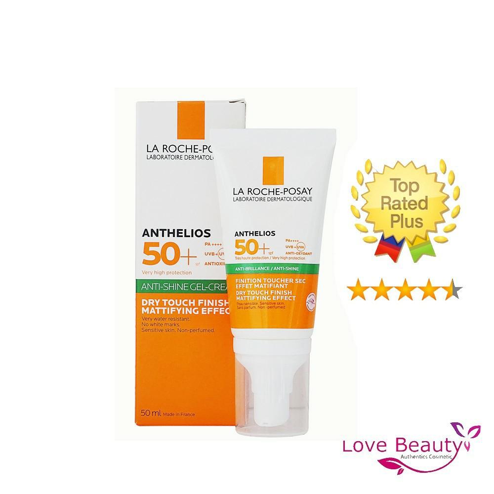[MẪU MỚI] Kem Chống Nắng La Roche Posay Anthelios Dry Touch Gel-Cream SPF50 Cho DA DẦU