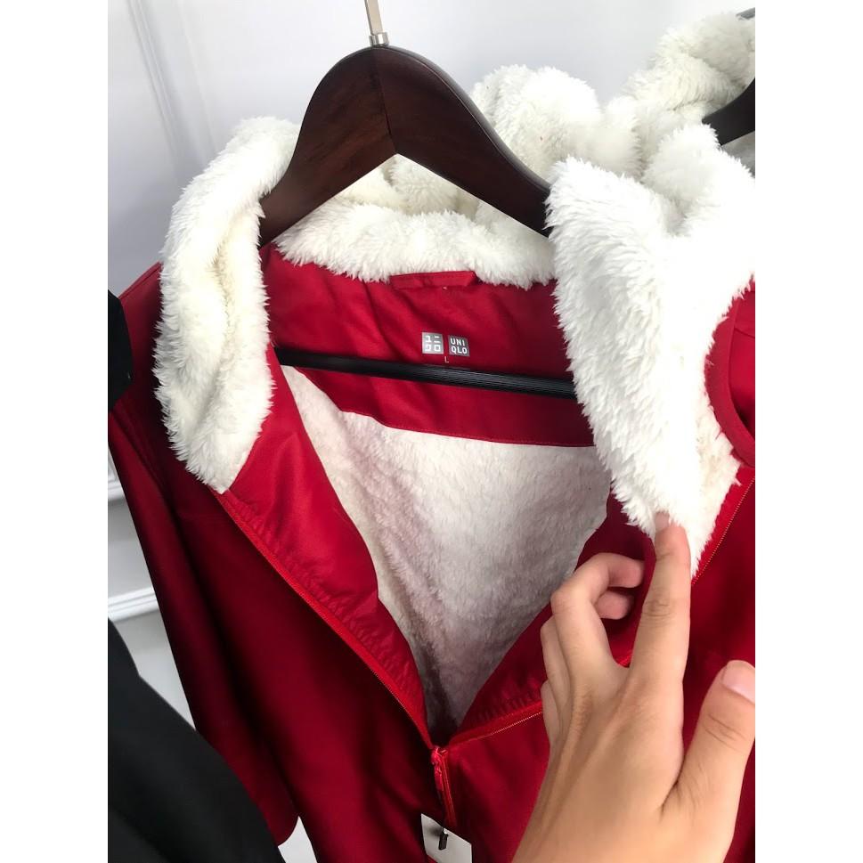 Áo khoác lông cừu UNI loại 1 VNXK