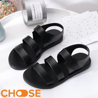Giày Nữ Đi Mưa Sandal 3 Quai Nhựa Chống Thấm Nước Cho Các Bạn Trẻ Mùa Mưa - shopgiay98 thumbnail