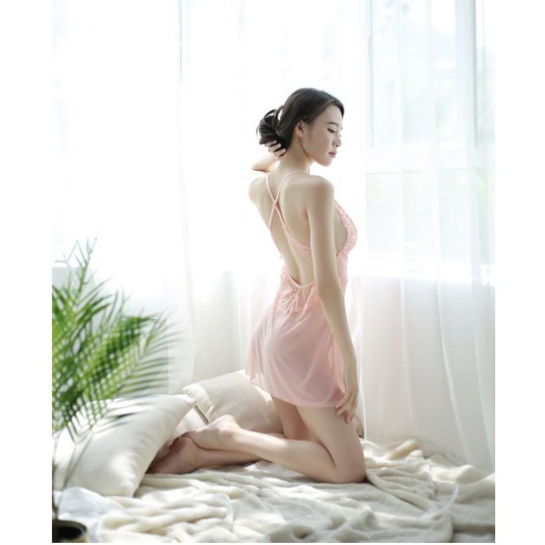 Mặc gì đẹp: Ngủ ngon hơn với Đồ Ngủ Sexy Nữ|Váy Ngủ Xinh ❣️FreeShip - Có Video- Túi Zip Xịn❣️ Ren Mềm Mịn Quyến Rũ Xinh Đẹp(V00)