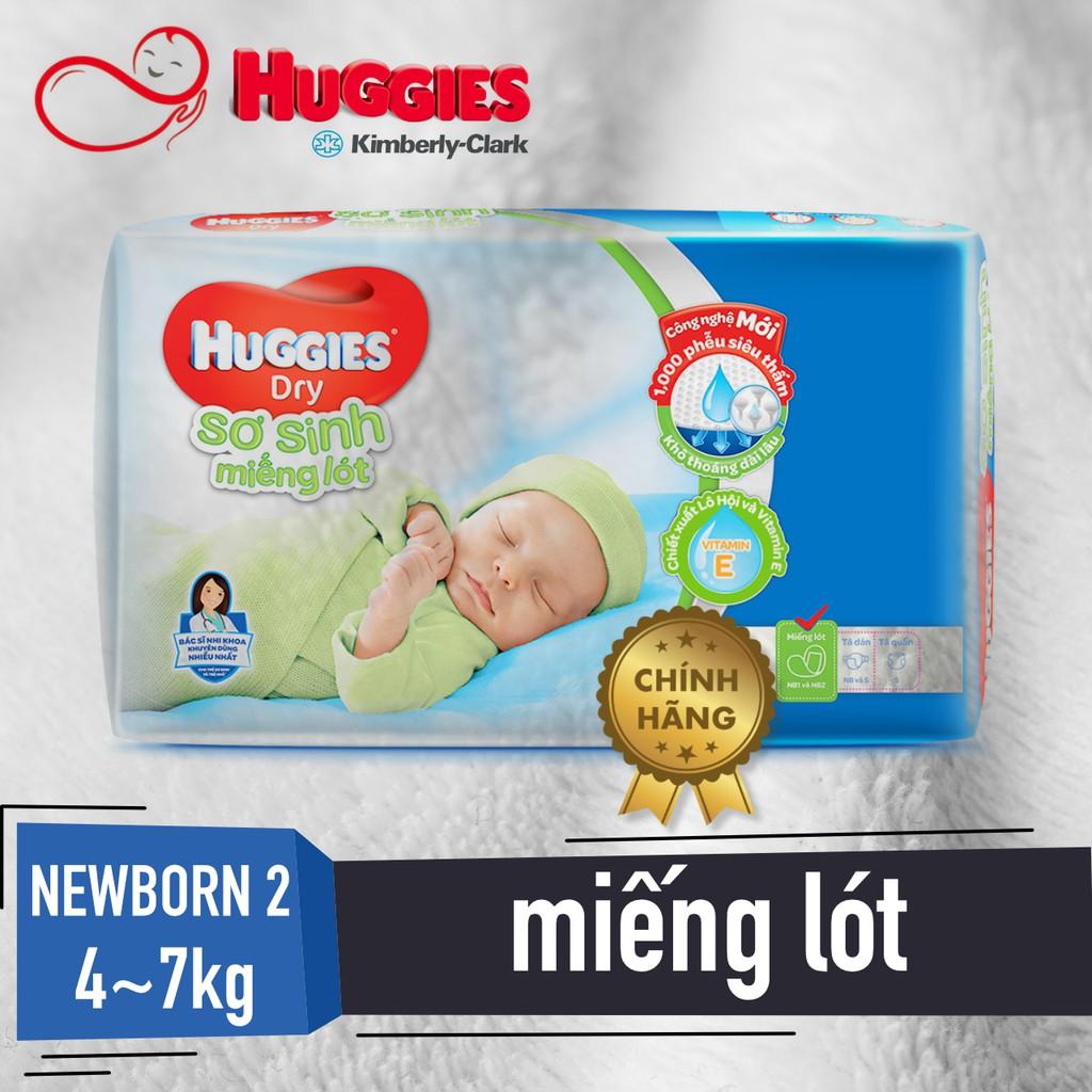 MIẾNG LÓT SƠ SINH Huggies Newborn 2 (NB2-40, NB2-60)