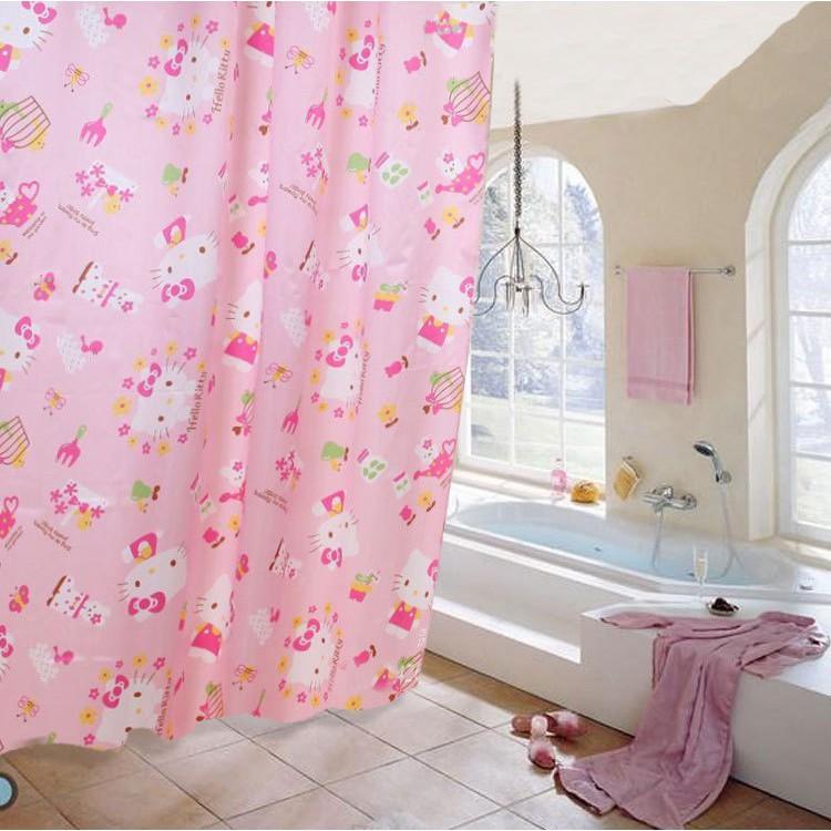 [FREESHIP50K] Rèm Che Phòng Tắm Toilet Chống Thấm 1,8x1,8m
