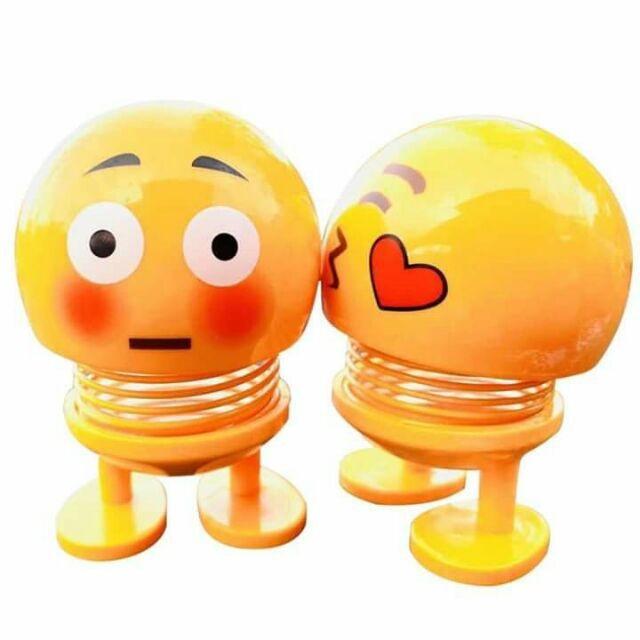 Thú nhún Emoji lò xo ngộ nghĩnh 7 biểu cảm dễ thương