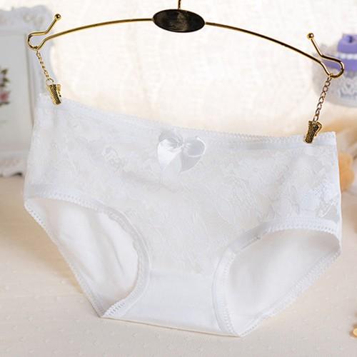 [Set 10 quần] Quần lót nữ cotton phối nơ xinh siêu quyến rũ nhiều màu | WebRaoVat