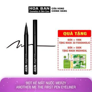 Bút Kẻ Mắt Nước Chống Trôi Merzy Another Me The First Pen Eyeliner màu đen 0,5g