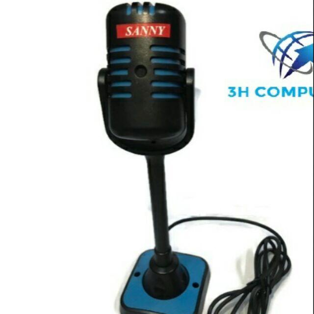 Microphone thu âm cho máy tính laptop LH600 Giá chỉ 140.000₫