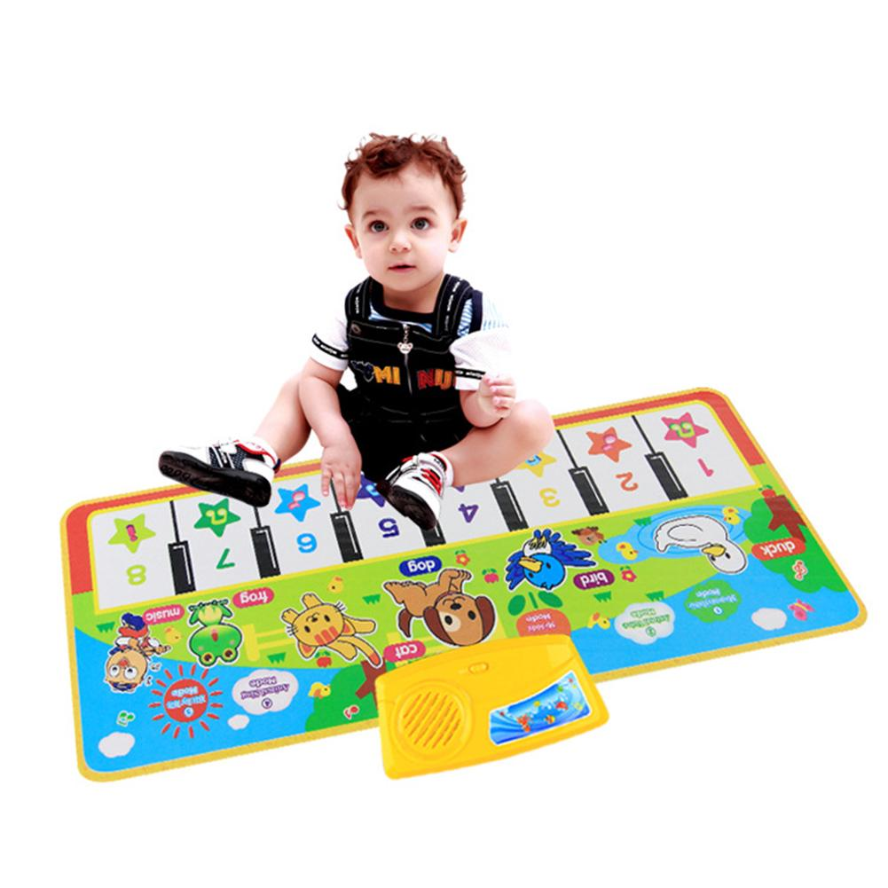 73*28cm Baby Music Carpet Mat Educational Kid Child Piano Play birthday gift