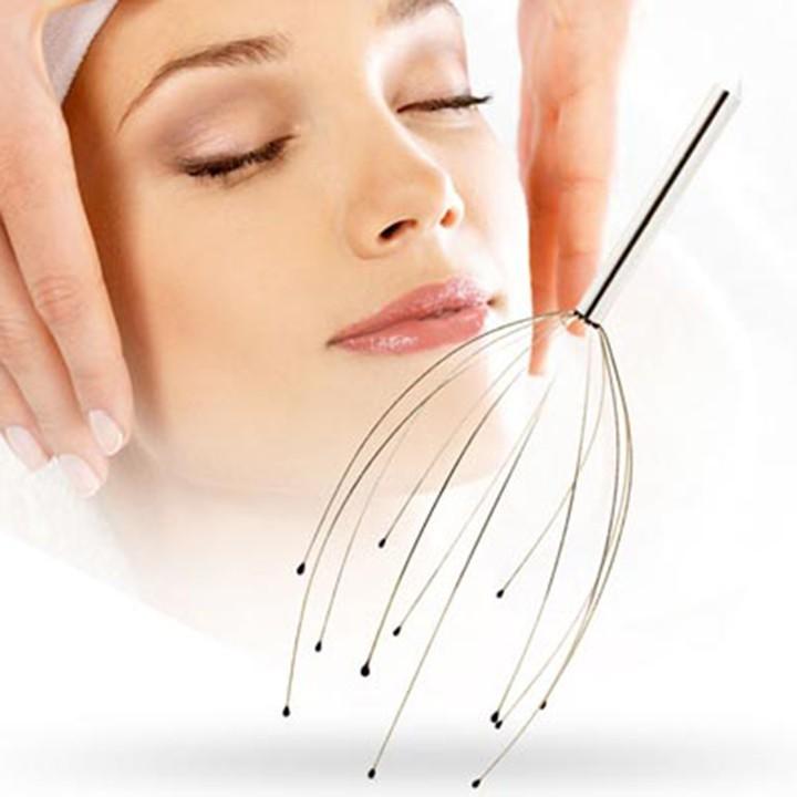 Dụng cụ y tế matxa đầu độc đáo masage da đầu trị liệu chữa bệnh an toàn bảo vệ sức khỏe cả gia đình F289SP3